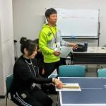 卓球バレー審判講習会を開催しました。
