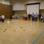 古河市で障がい者スポーツ教室を開催中です。