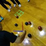 茨城県南生涯学習センターにおいて、エンジョイホリディ子どもあそびの広場でパラスポーツ体験を実施しました。