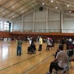 (報告)地元体育協会がボッチャ大会を開催しました。