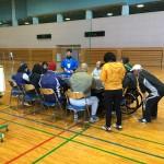 第2回県南ブロック実技研修会(卓球バレー)が開催されました。